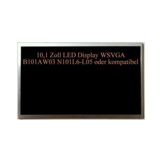 10,1 Acer Aspire One Display LED B101AW01 WSVGA