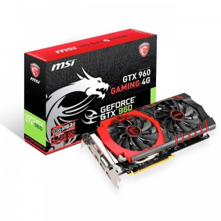 MSI GeForce GTX 960 Gaming 4G PCIe 3.0 x16 4096MB