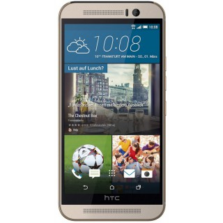 HTC One (M9) 32GB Gold on Silver
