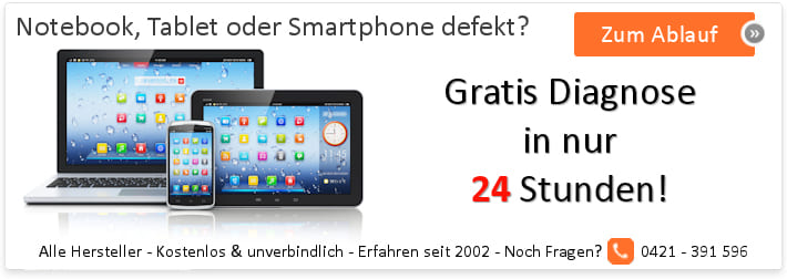 Laptop, Tablet oder Smartphone defekt? Wir reparieren!