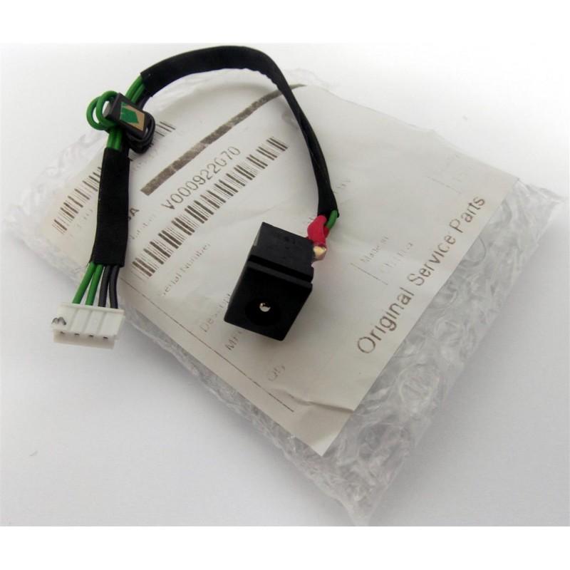 Original Toshiba Satellite A100 A105 Netzbuchse Powerkabel